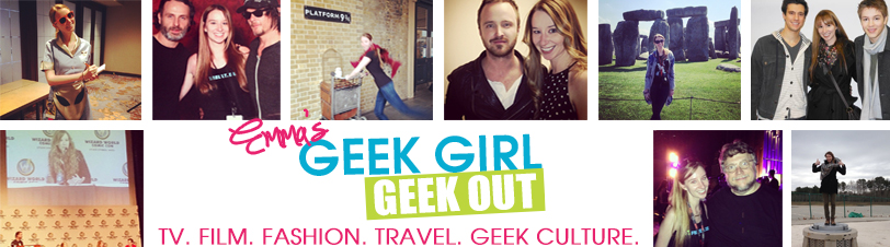 Pop Culture Geek Out With Emma Loggins