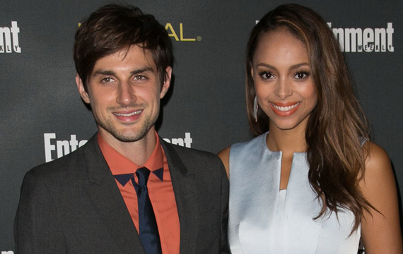 Andrew J. West and Amber Stevens