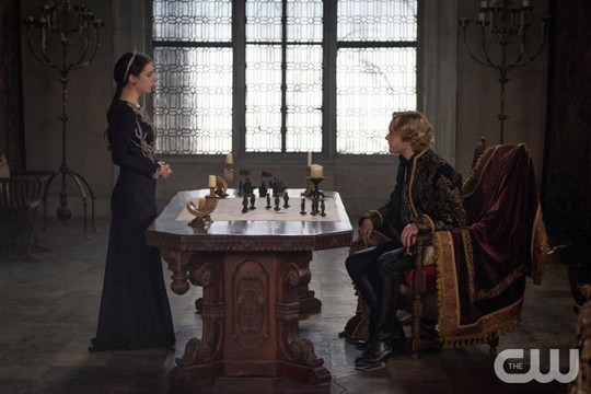 Pictured: Adelaide Kane as Mary Queen of Scotland and France and Toby Regbo as King Francis II Photo Credit: Christos Kalohorides/ The CW
