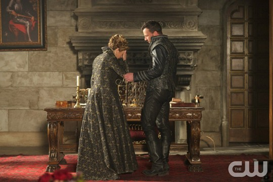 Pictured: Megan Follows as Catherine de Medici and Craig Parker as Narcisse Photo Credit: Sven Frenzel. The CW