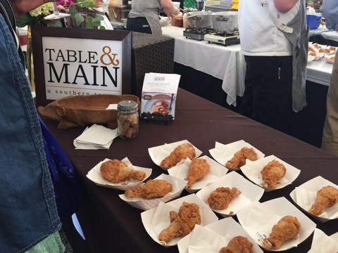 Atlanta Food and Wine Festival - Table and Main