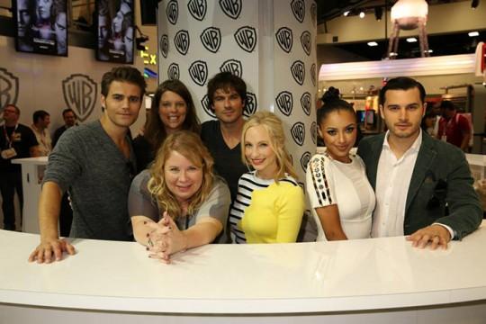 Vampire Diaries at Comic-Con 2015 - Photo 1 - Photo Credit: WBEI