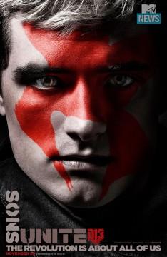 Josh Hutcherson as Peeta Meelark Photo Credit: MTV/Lionsgate