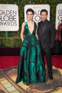 Jaimie Alexander 2016 Golden Globes Dress