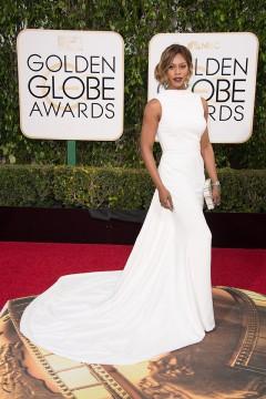 Laverne Cox 2016 Golden Globes Dress