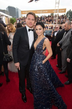 Jenna Dewan-Tatum 2016 Golden Globes Dress