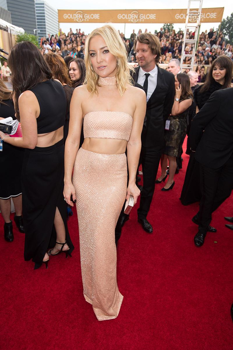 Kate Hudson 2016 Golden Globes Dress