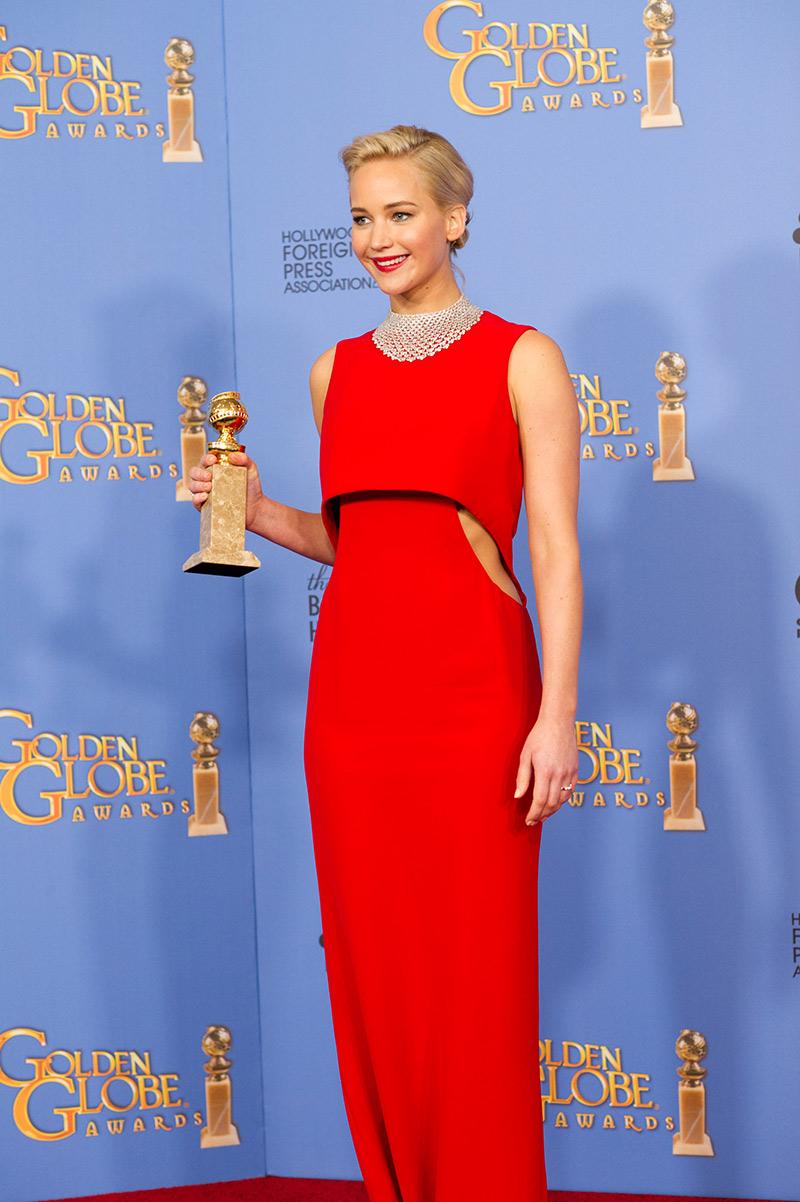 Jennifer Lawrence 2016 Golden Globes