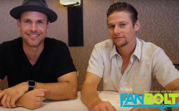 Zach Roerig and Matt Davis