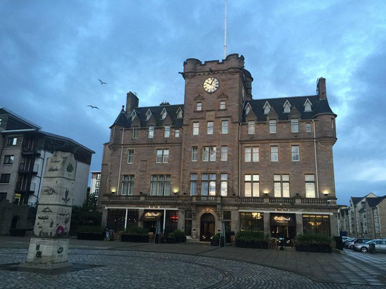 The Malmaison in Edinburgh, Scotland