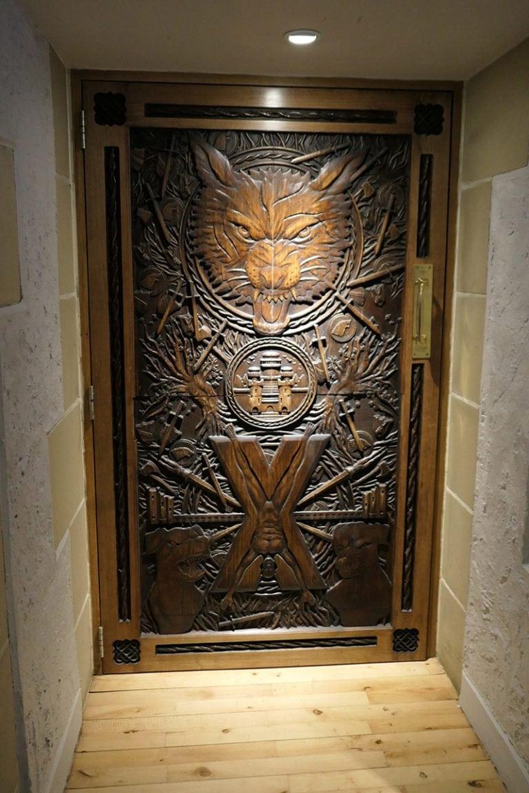 Game of Thrones Filming Location: Ballygally Castle Hotel - Door 9