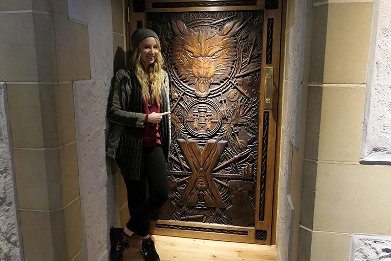 Game of Thrones Filming Location in Northern Ireland: Ballygally Castle Hotel - Door 9
