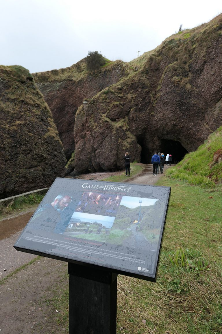 Game of Thrones Filming Location: Cushendun Caves