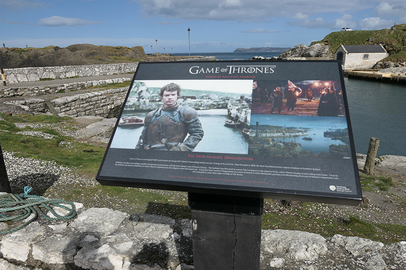 Game of Thrones Filming Location in Northern Ireland: Lordsport Harbour & Pyke