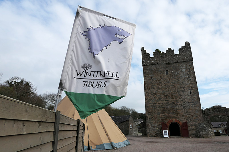 Game of Thrones Filming Location in Northern Ireland: Winterfell