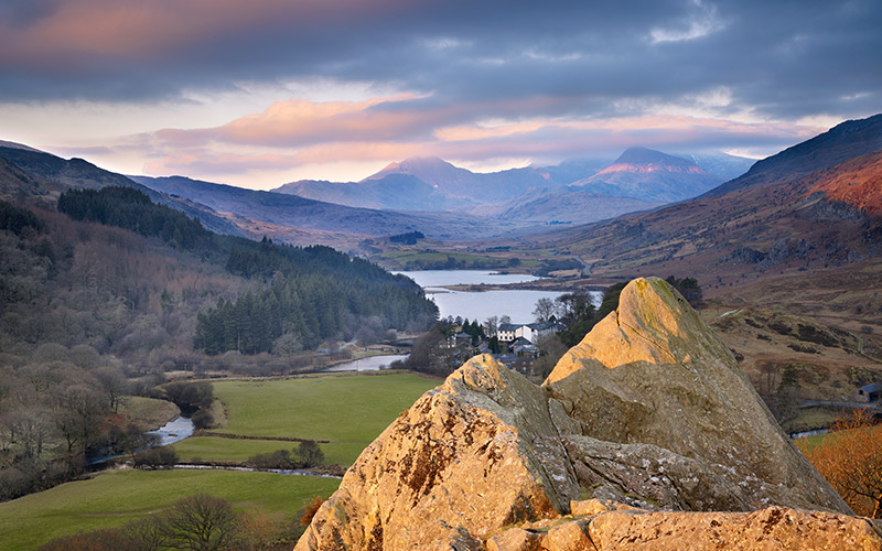 Snowdonia National Park, North-West Wales
