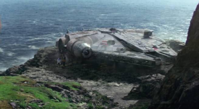 Star Wars: The Last Jedi in Malin Head
