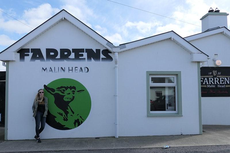 Farren's Bar in Malin Head
