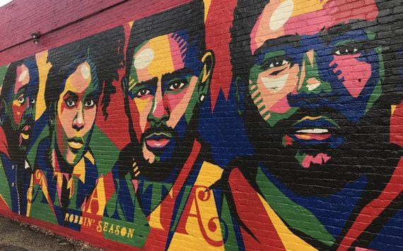 FX Atlanta Mural