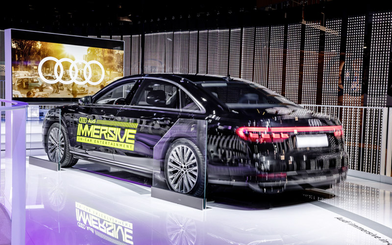 Audi Immersive In-Car Entertainment