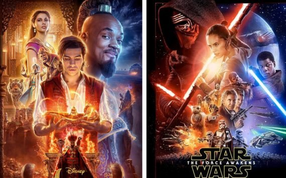 Aladdin Poster - Star Wars The Force Awakens Poster
