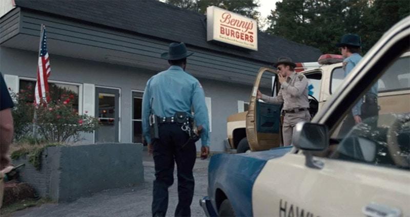 Stranger Things Bennys Burgers