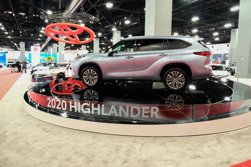 2019 Miami Auto Show: 2020 Toyota Highlander