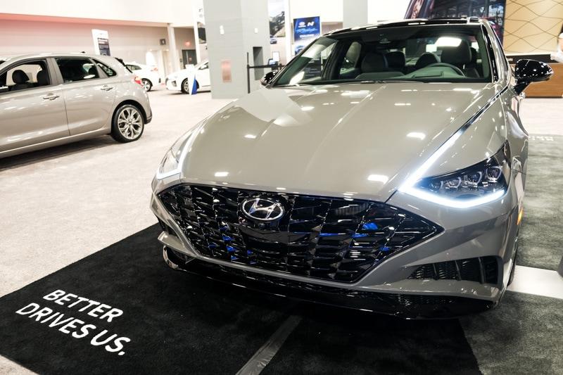 2019 Miami Auto Show: 2020 Hyundai Sonata