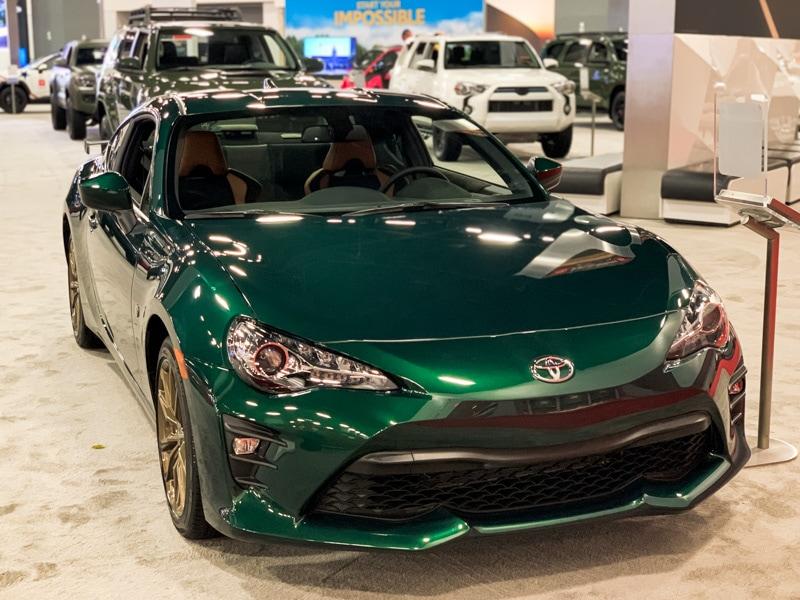 2019 Miami Auto Show: 2020 Toyota 86