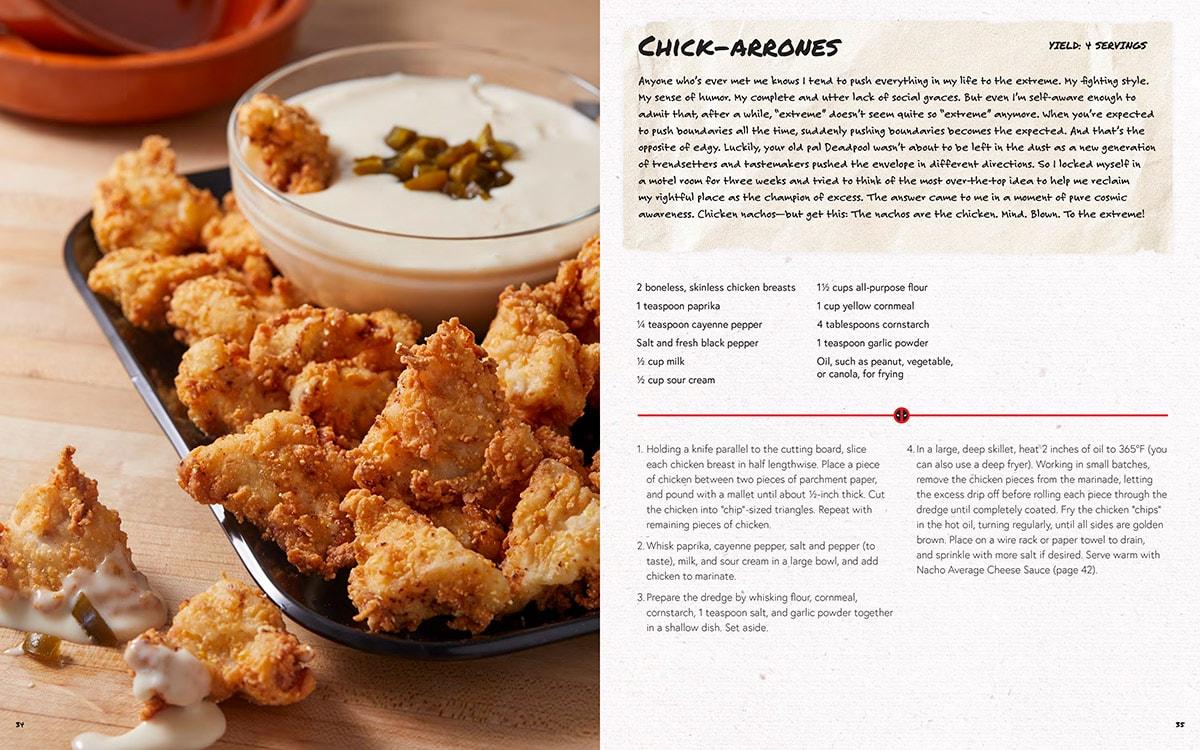 Deadpool Cookbook: Chick-aarones