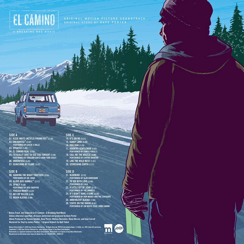 El Camino: A Breaking Bad Movie - Original Soundtrack Vinyl 2XLP