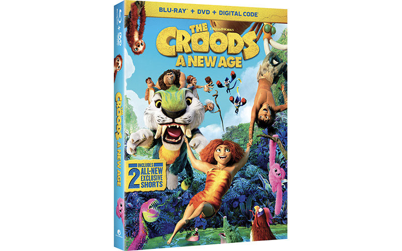 The Croods: A New Age DVD
