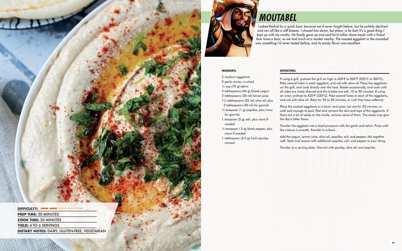 Street Fighter Cookbook - Exclusive Recipe