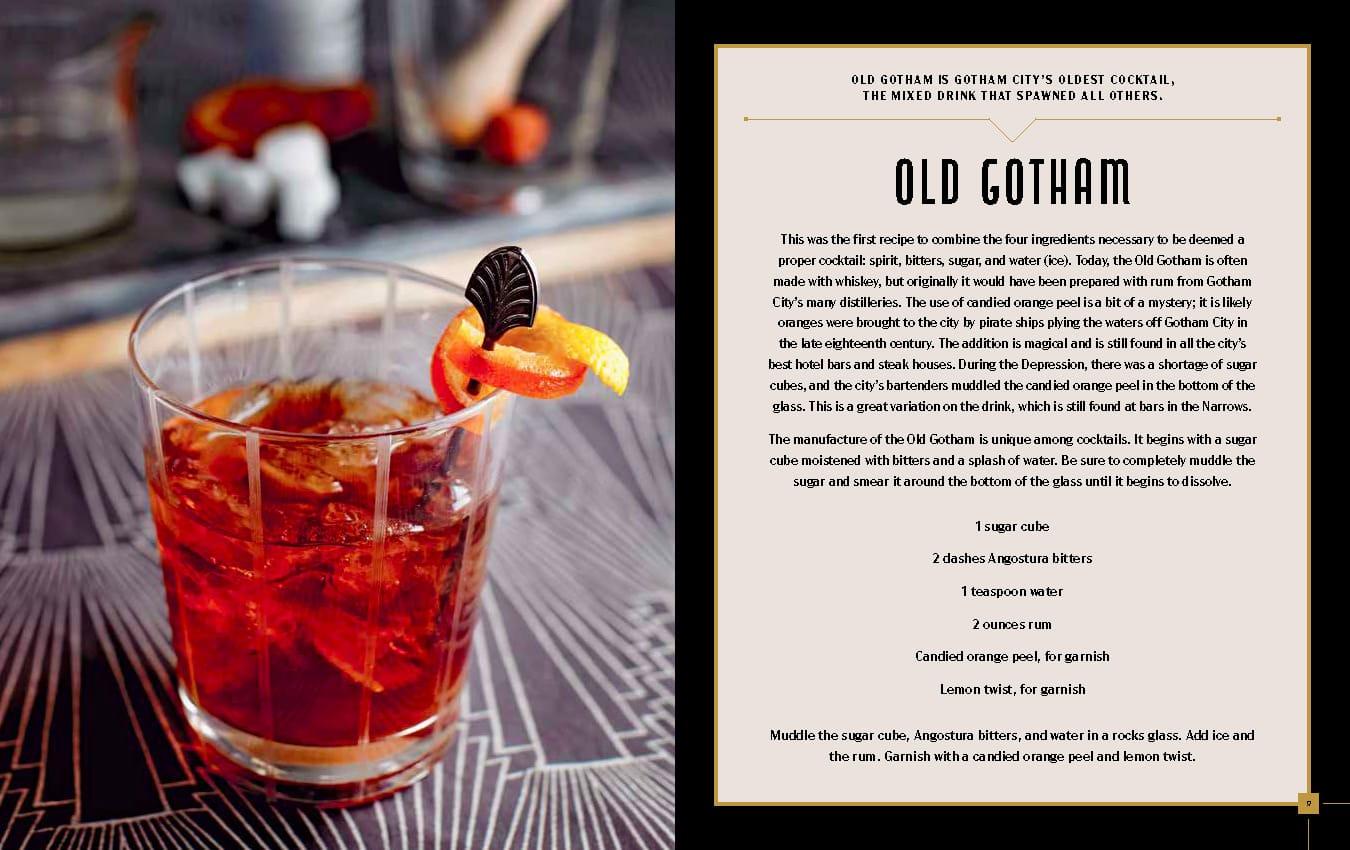 FanBolt - Gotham City Cocktail - Old Gotham