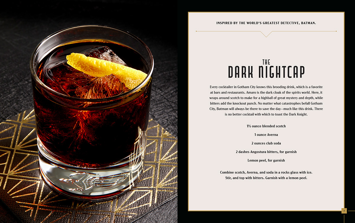 Geek Cooking and Geek Cocktails: The Dark Nightcap