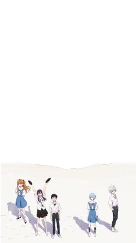 Evangelion anime iphone wallpaper