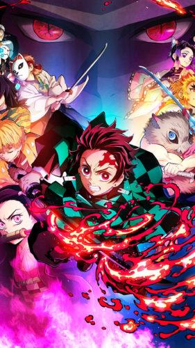 Demon Slayer Anime iPhone Wallpaper