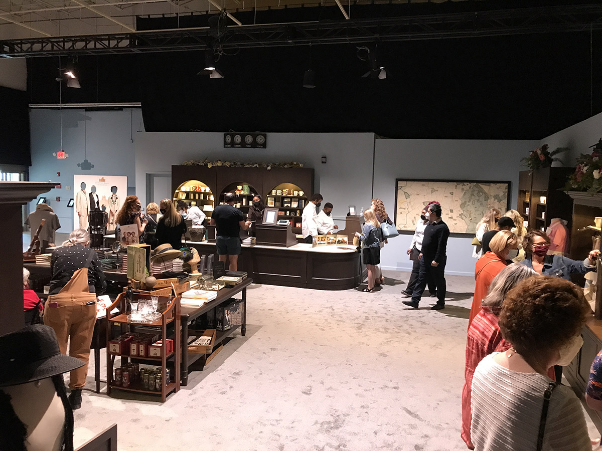 Downton Abbey - The Exhibition - Gift Shop