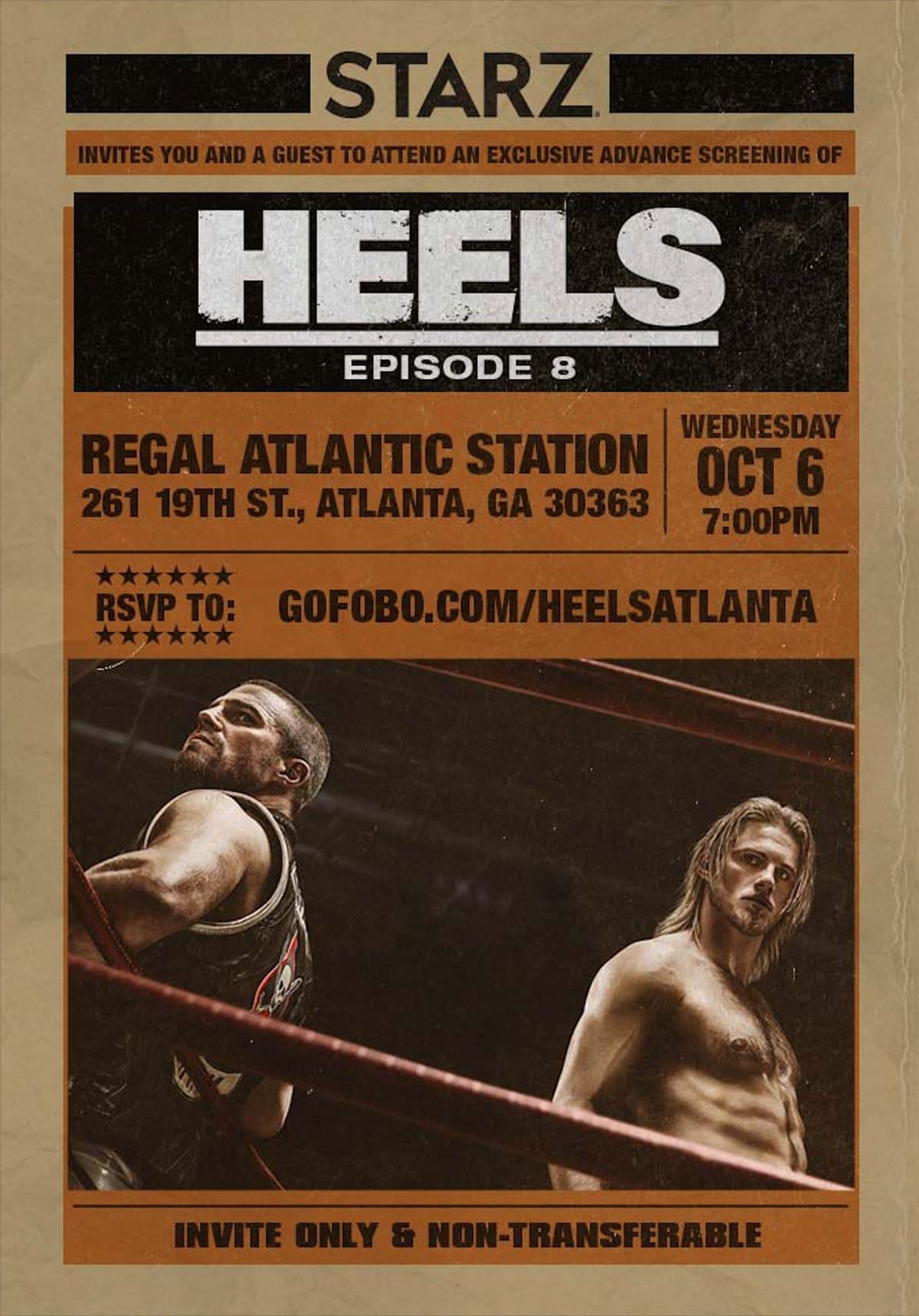 Heels - Atlanta Event