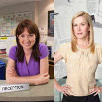 Interview Angela Kinsey And Ellie Kemper From The Office