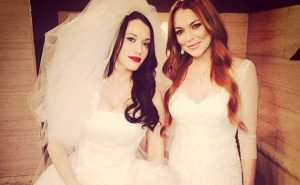 Lindsay Lohan on 2 Broke Girls