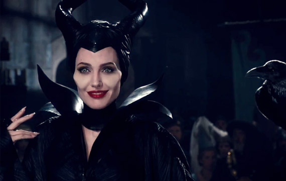 Maleficent: Angelina Jolie