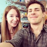 FanBolt Editor Emma Loggins with Writer/Director Chris Lowell