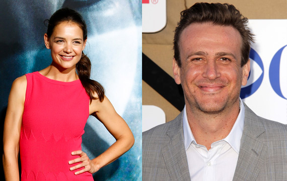 Jason Segel and Katie Holmes