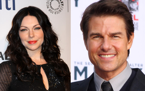 Laura Prepon and Tom Cruise