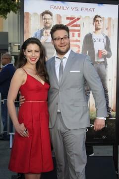 Lauren Miller and Seth Rogen - Neighbors LA Premiere - Photo Credit: Helga Esteb / Shutterstock.com