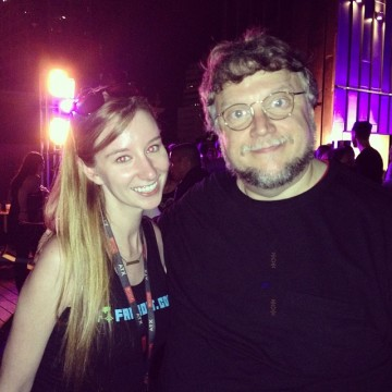 Guillermo del Toro with Emma Loggins
