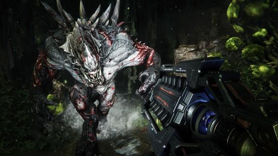Goliath, the first monster revealed for Evolve.