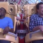 Jimmy Fallon Convinces Kevin Hart to Ride a Roller Coaster and It's Hilarious