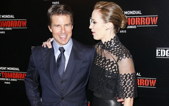 Emily Blunt Quot Almost Killed Quot Tom Cruise In Driving Stunt